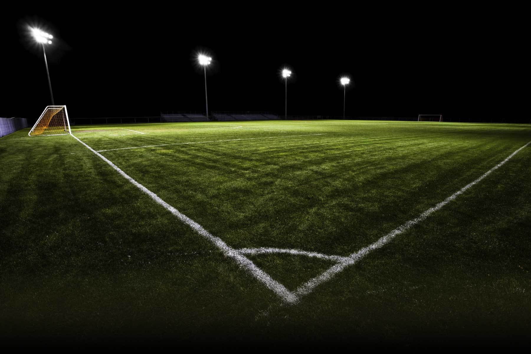 Soccer Field Night